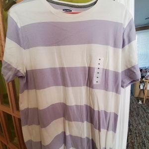 Short sleeve stripe tee, Old Navy, medium